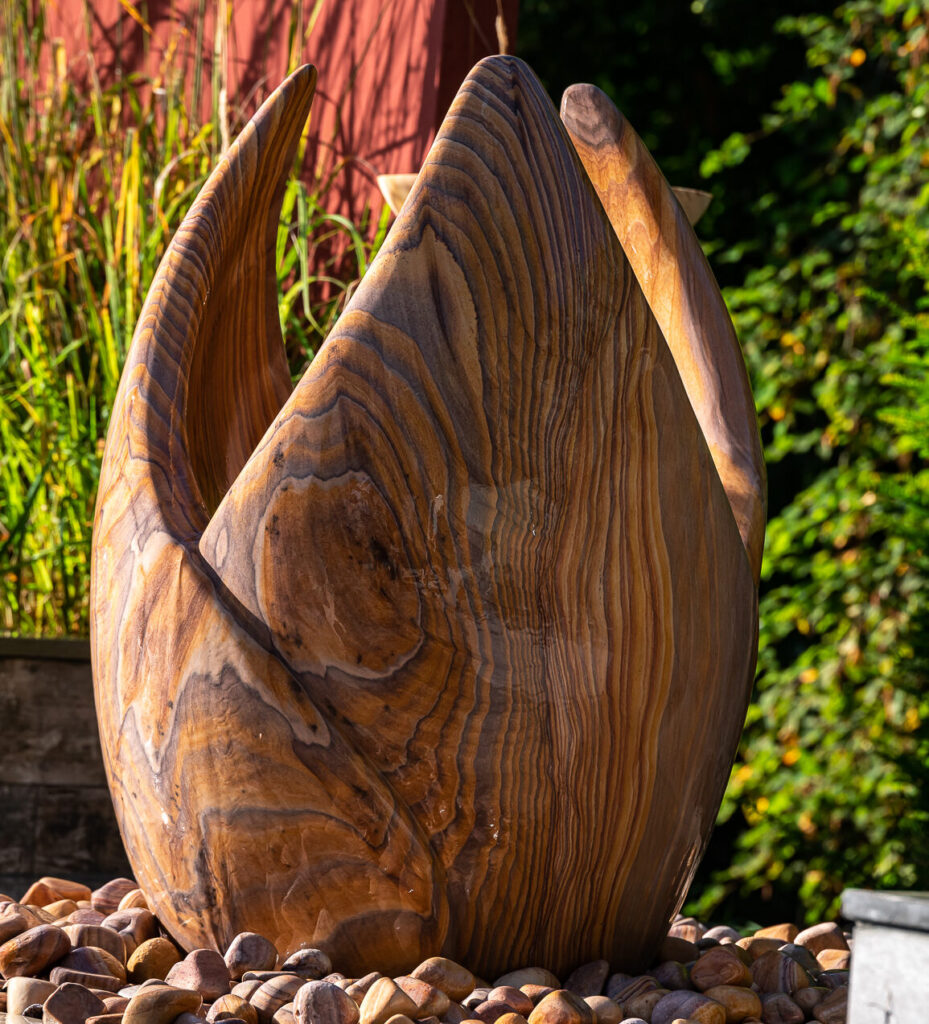 tulip water feature