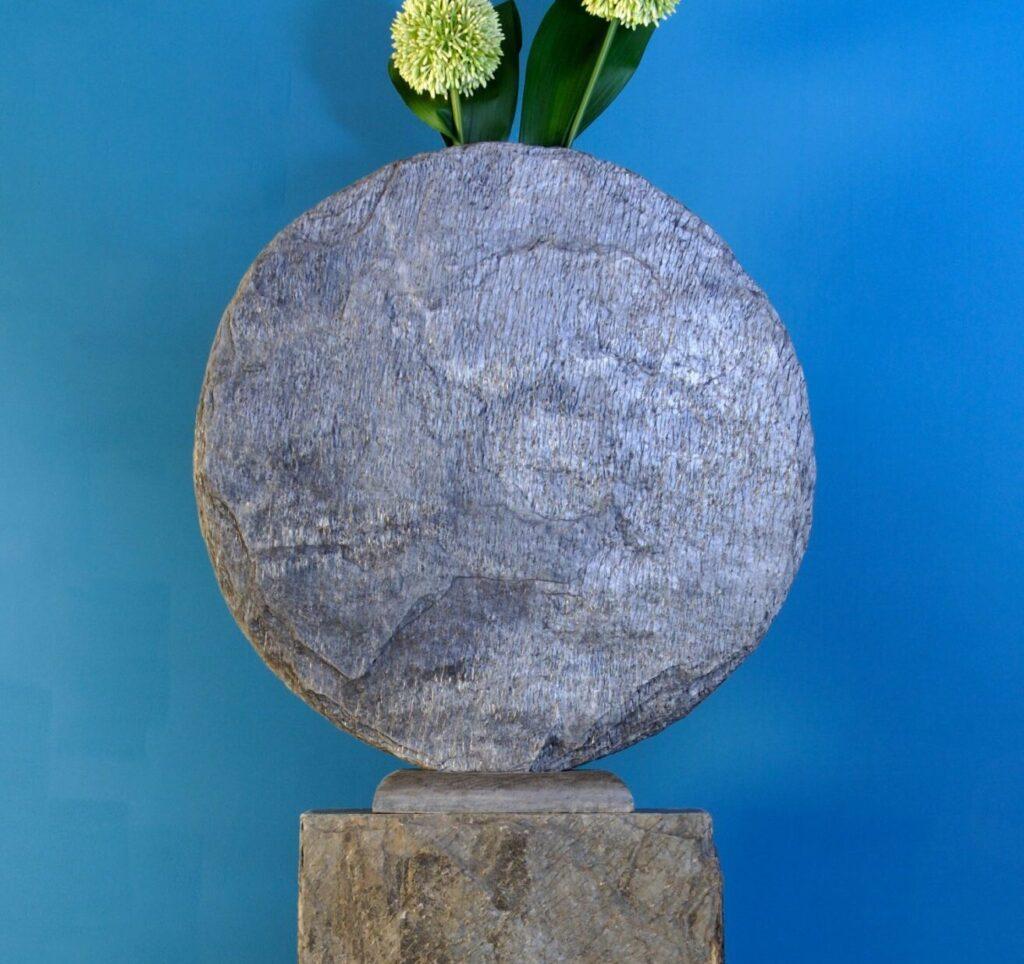 stone vase sculpture