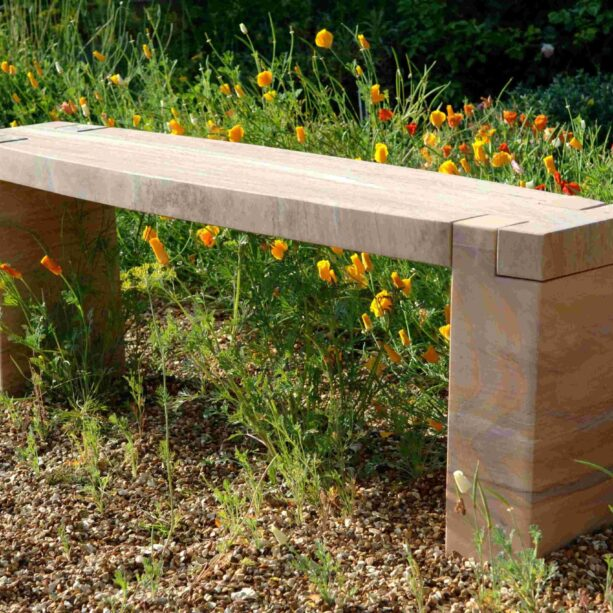 Rossco Rainbow Sandstone Straight Bench