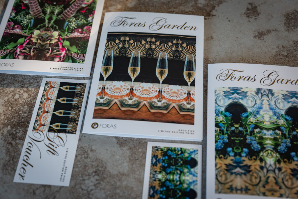 Foras Gift Voucher & Greeting Card