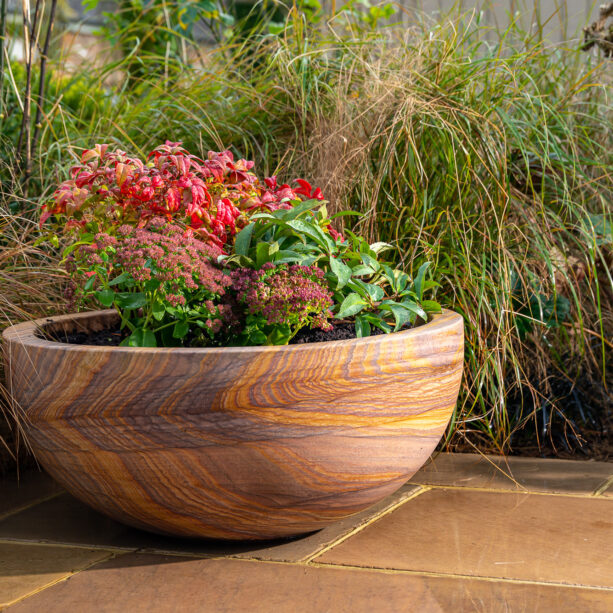 Pure rainbow sandstone Planter