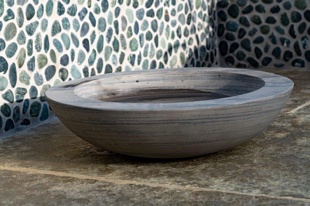 sandstone bird bath