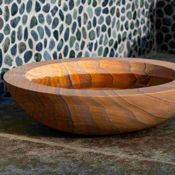 Acorn Bowl Rainbow Sandstone