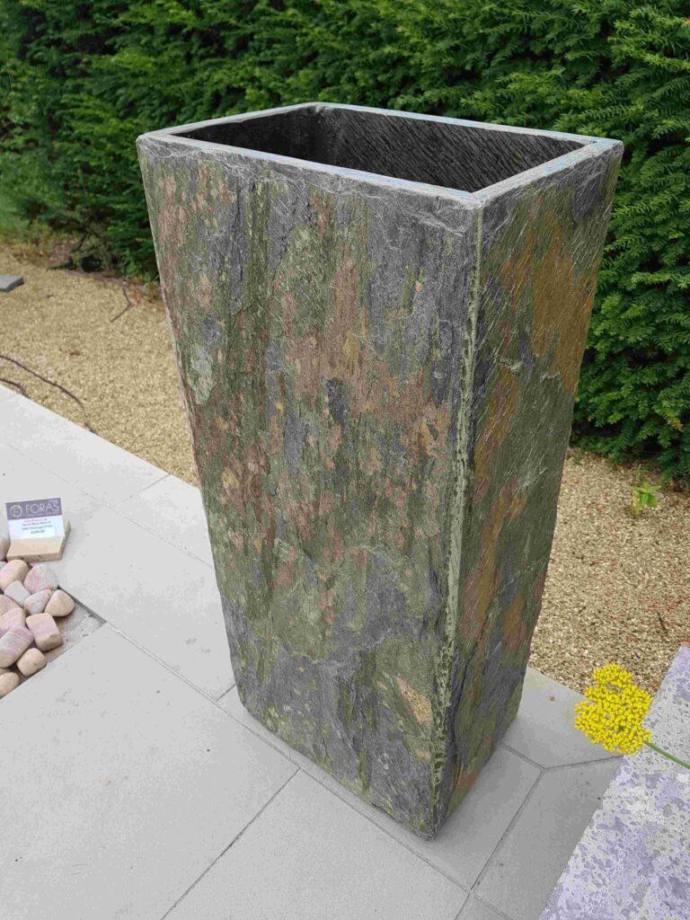 Surmi Rectangular Slate Plinth / Planter