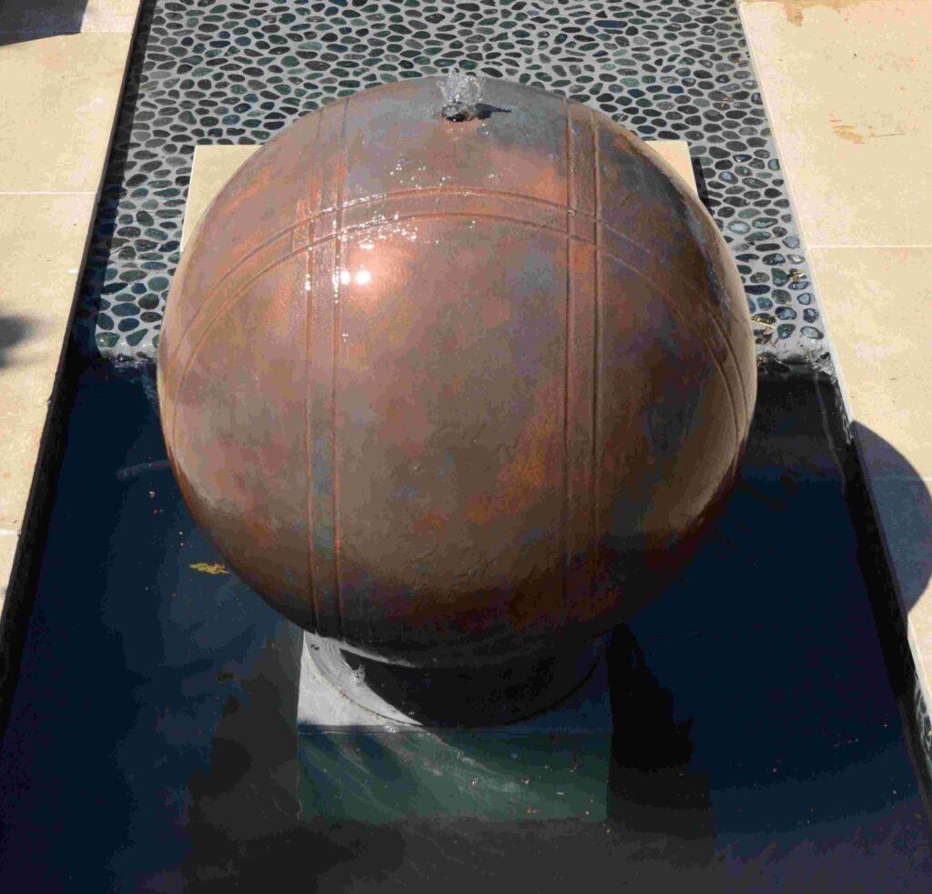 Copper Boule 75cm Water Feature Kit