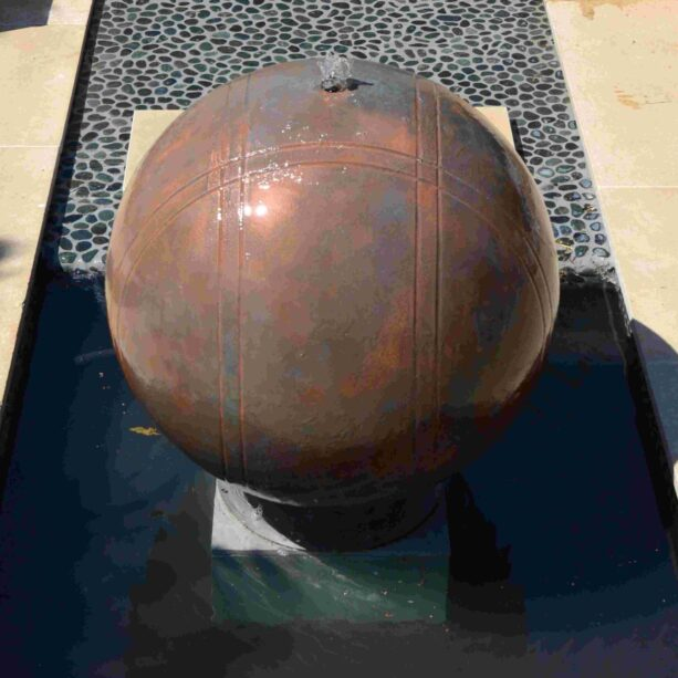 Copper Boule 75cm Water Feature Kit