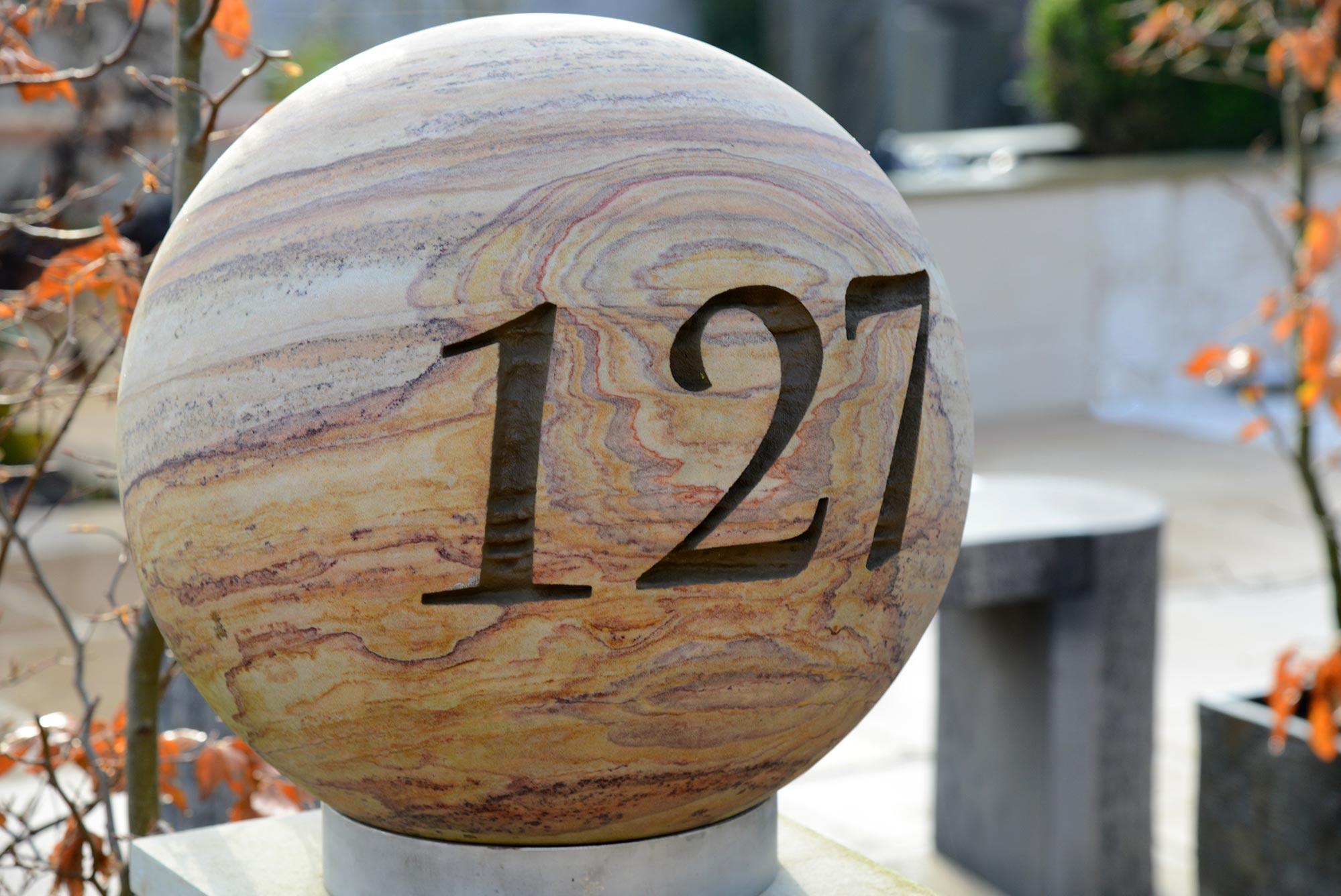 Personalised 40cm Rainbow Sphere