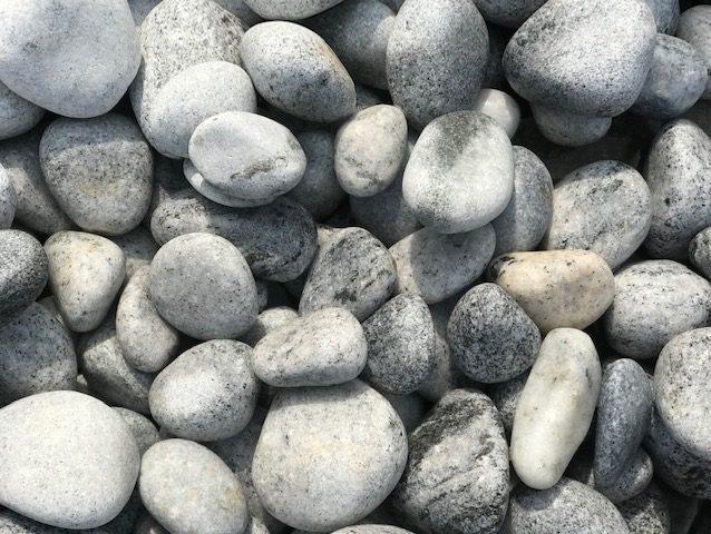 Grey 20kg Pebbles