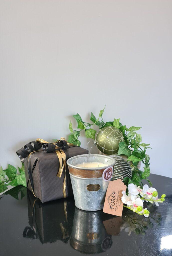 lime, basil and mandarin croxton Candle