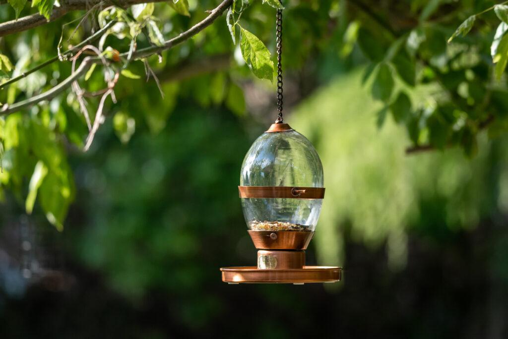 Hazel Antique bird feeder