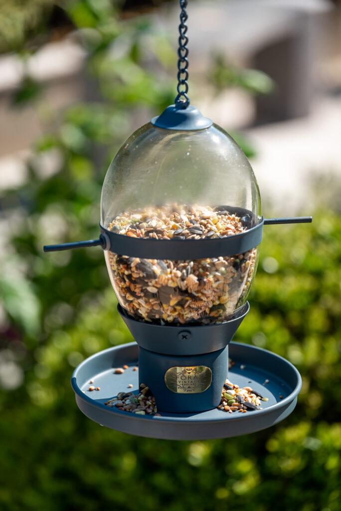 Hazel Twilight bird feeder