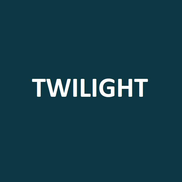 twilight colour swatch