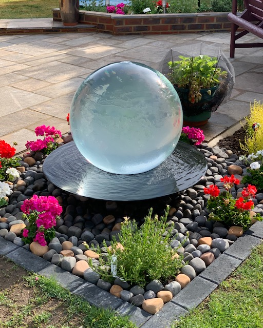 New Fusion water feature