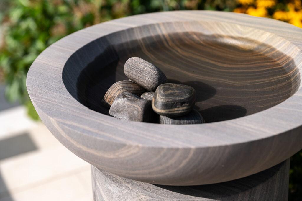 Shark Acorn Bowl with Shark Pebbles