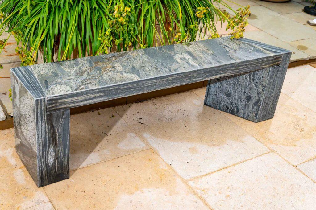 Arca Pewter bench