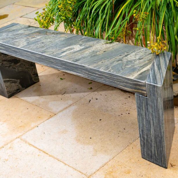 Arca Pewter bench