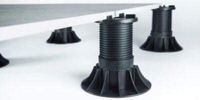 20mm black pedestal system