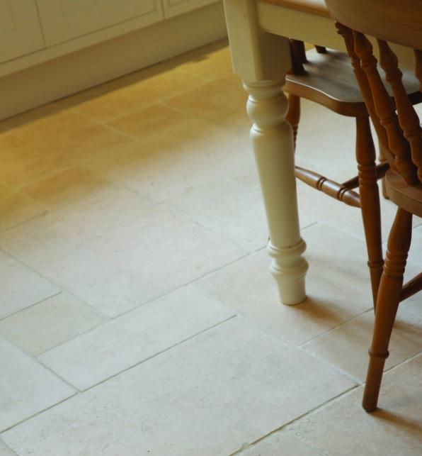 Romana Light Honed & Tumbled Limestone