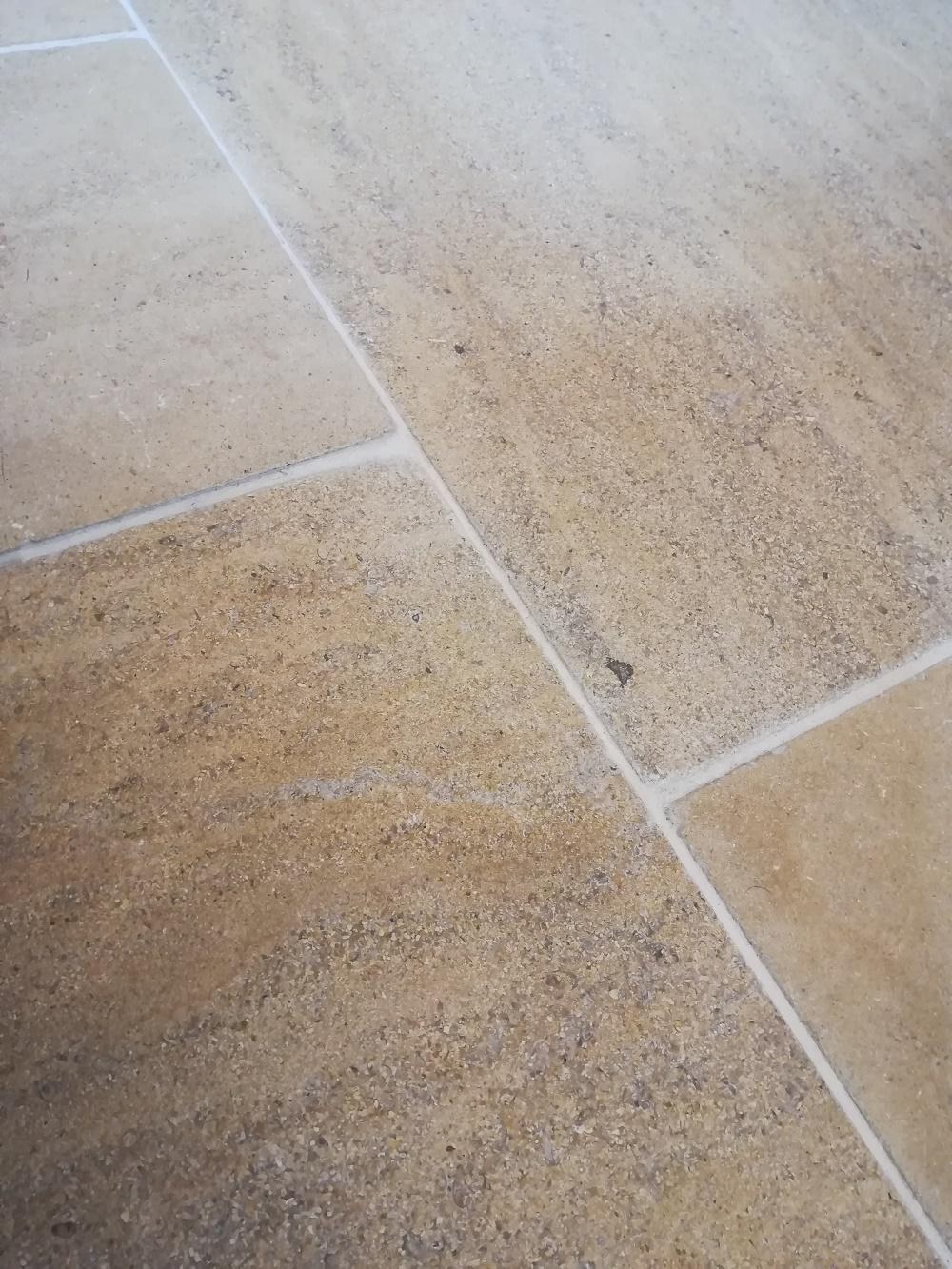 Tidal Blush Honed Tumbled and Brushed Limestone