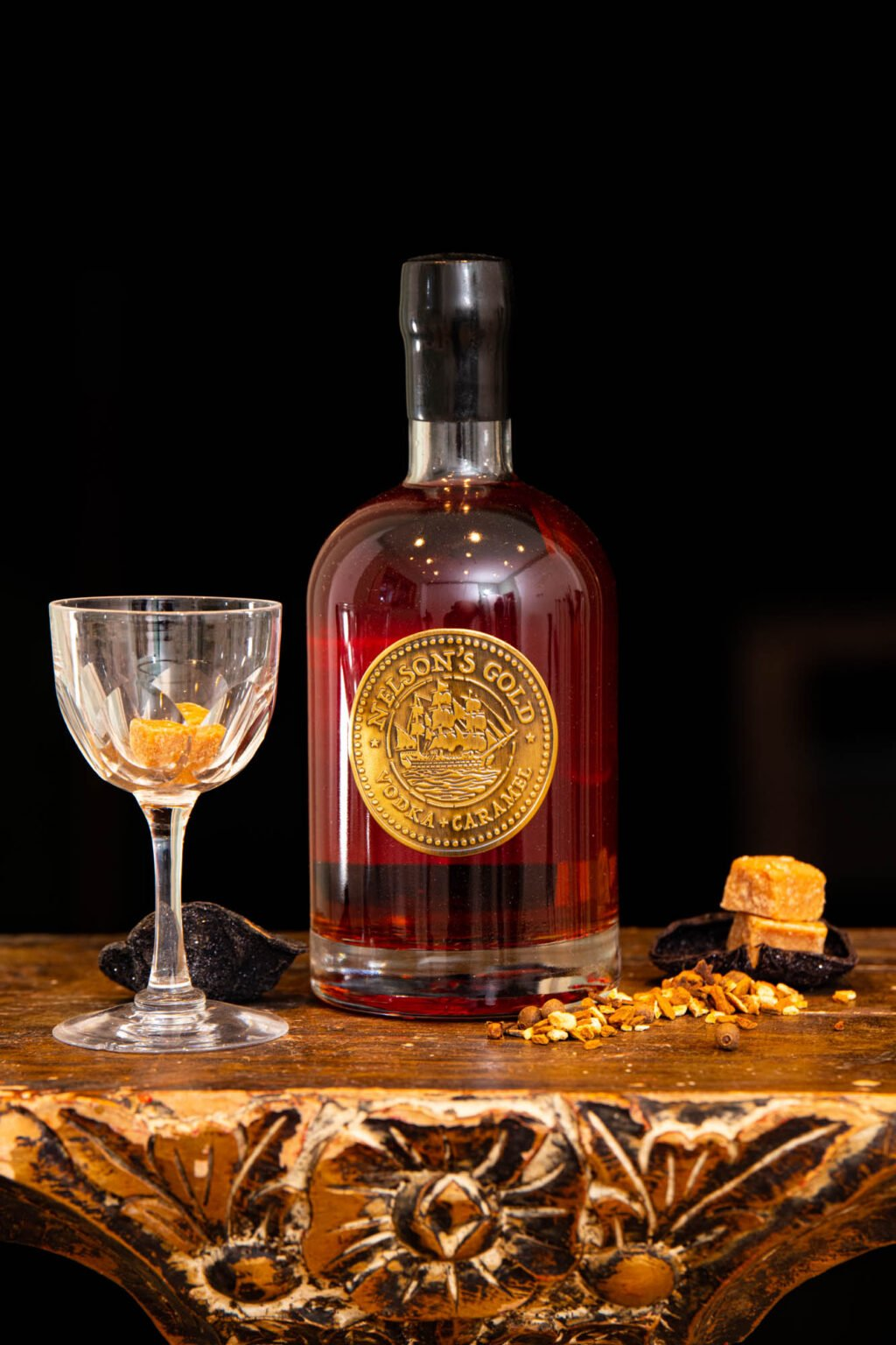 Nelson's Gold caramelised Vodka