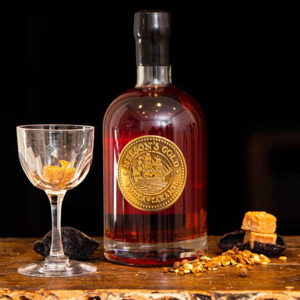 Nelson's Gold caramelised Vodka