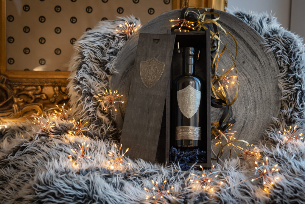 wild knight vodka gift box