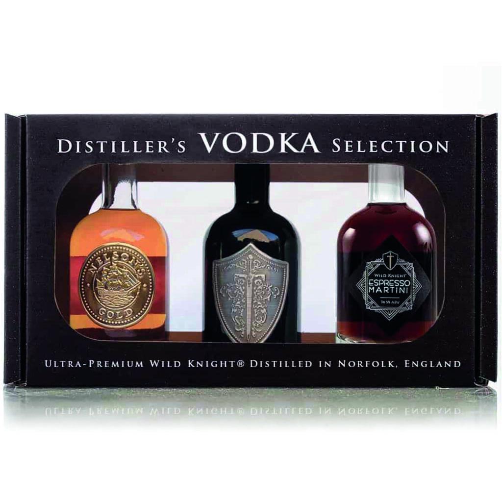 wild knight vodka selection