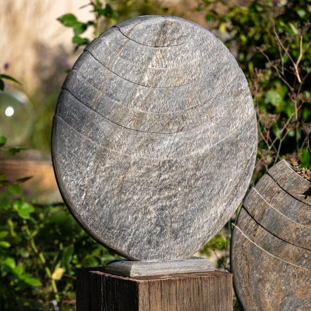 Caviara on Weathered Oak PLinth