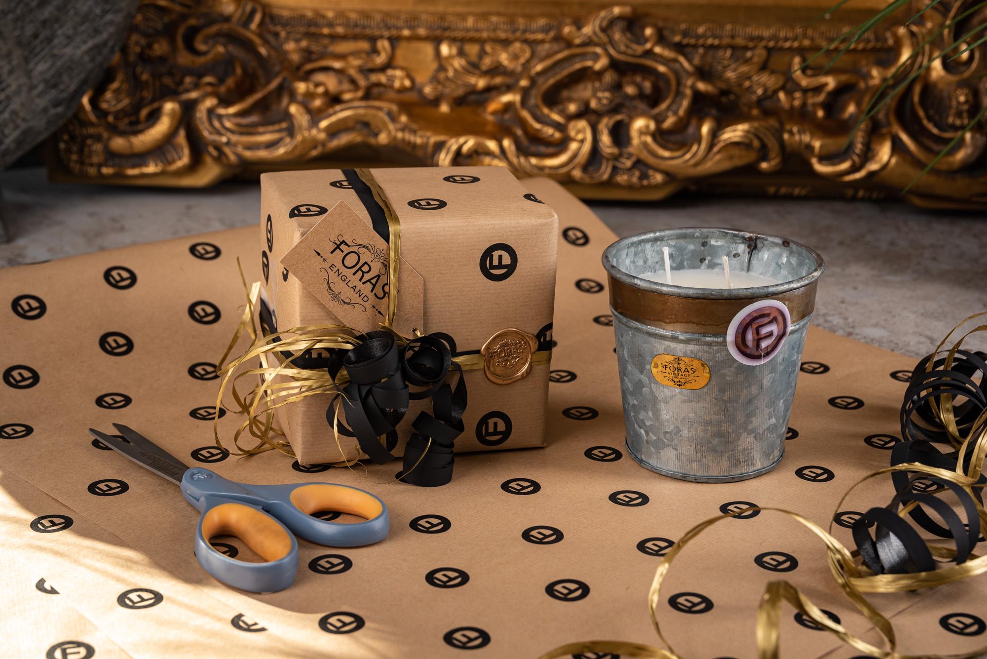 Candle Luxury Gift Wrap