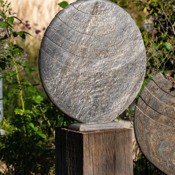 Caviara on Oak Plinth
