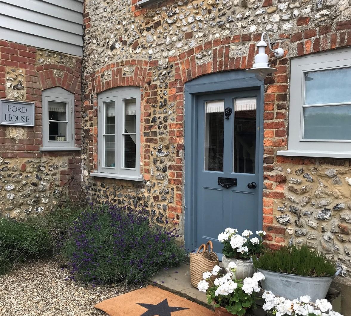 Fenwick and Tilbrook painted door