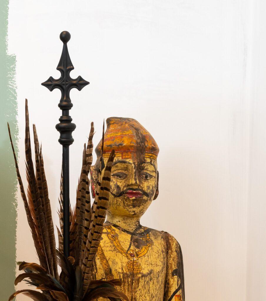 Chancel garden stake