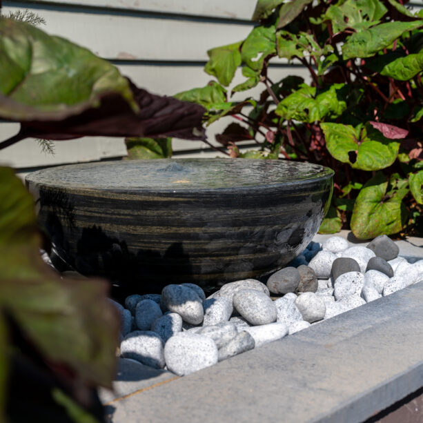 Pewter Infinity Water Feature Kit