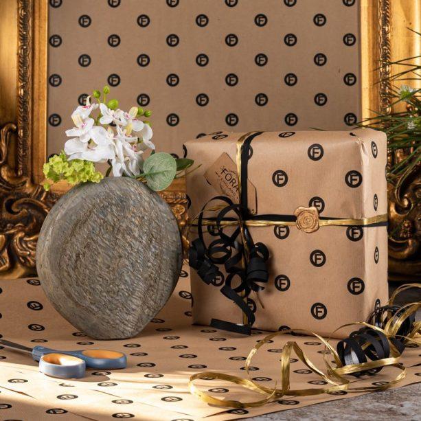 Gift Wrapped Abalone Vase